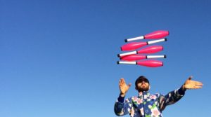 Contemporary Juggling Star Wes Peden Tells All–A Quick Talk