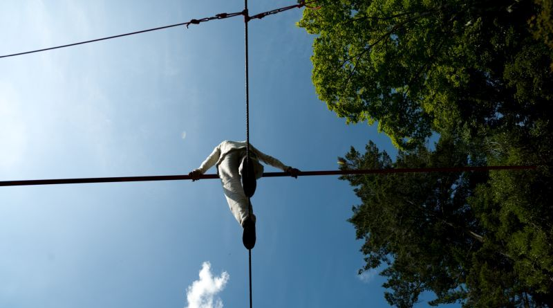 9cbb9000af Tightrope Walking and Zen  a Way to Be Trained to Balance - CircusTalk
