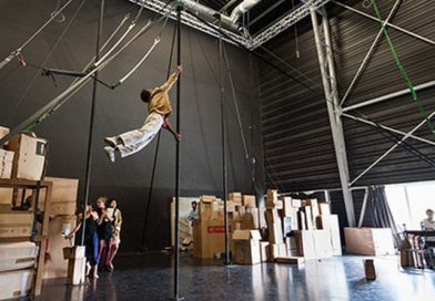 La Grainerie–Accompanying the Circus Artist & Creating a Safety Net
