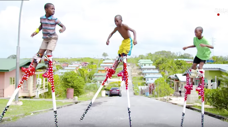 Dancing With 10-Foot Stilts