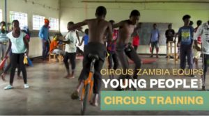 Circus Zambia Queen Young Leaders Program