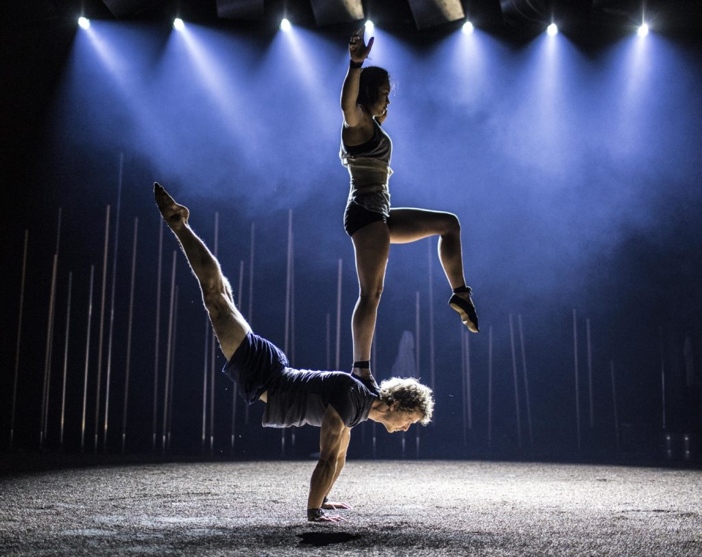 Backbone by Gravity and Other Myths, Australian circus