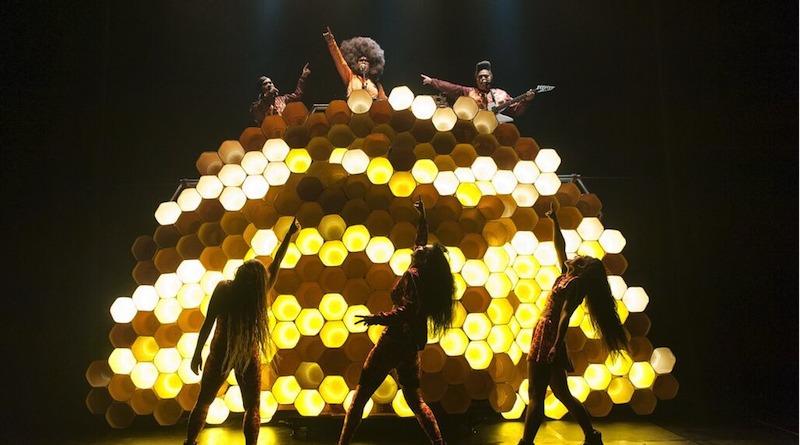 Australian circus, circus burlesque