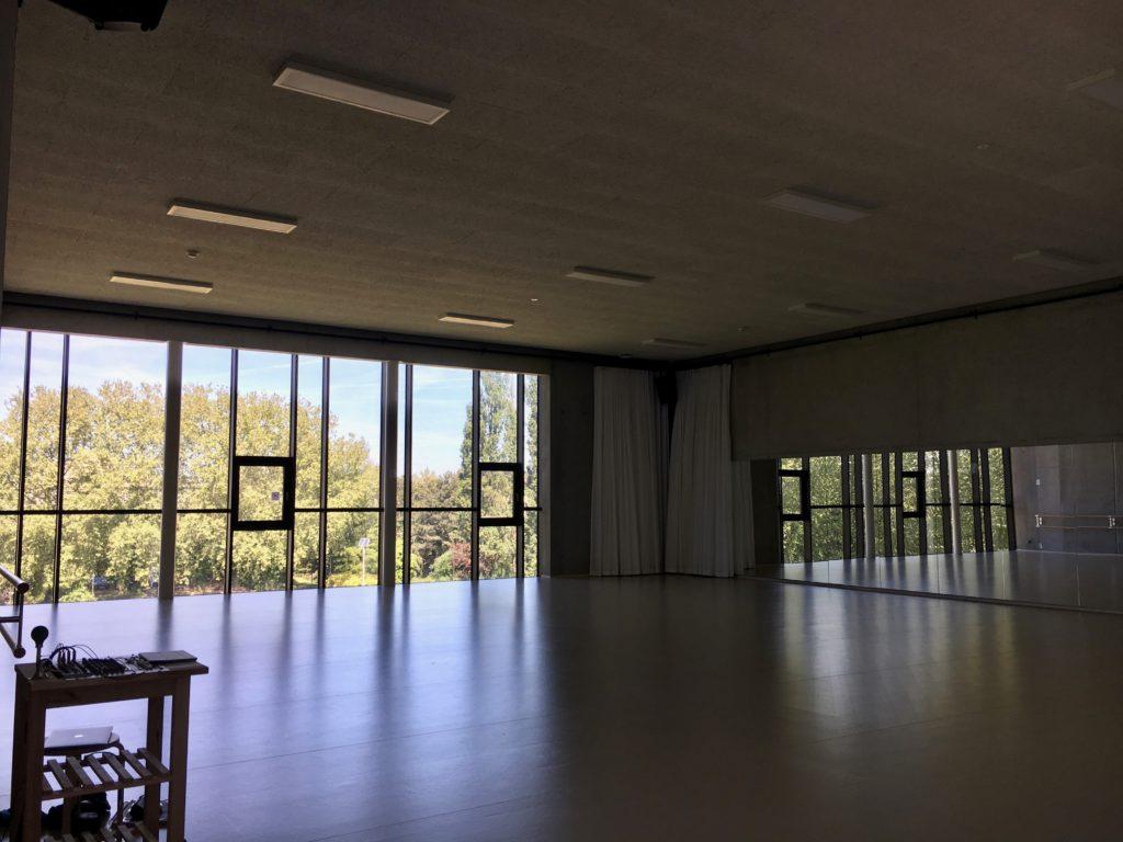 circus dance studio, ESAC circus school