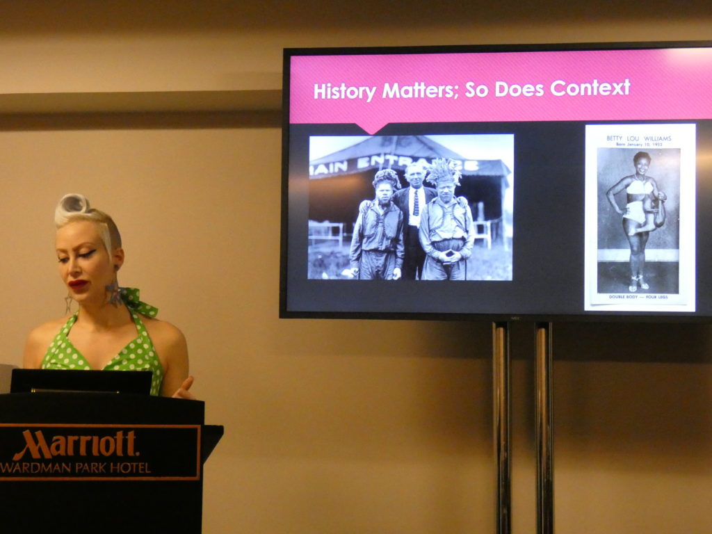 Alexandra Doll presents her circus and sideshow research