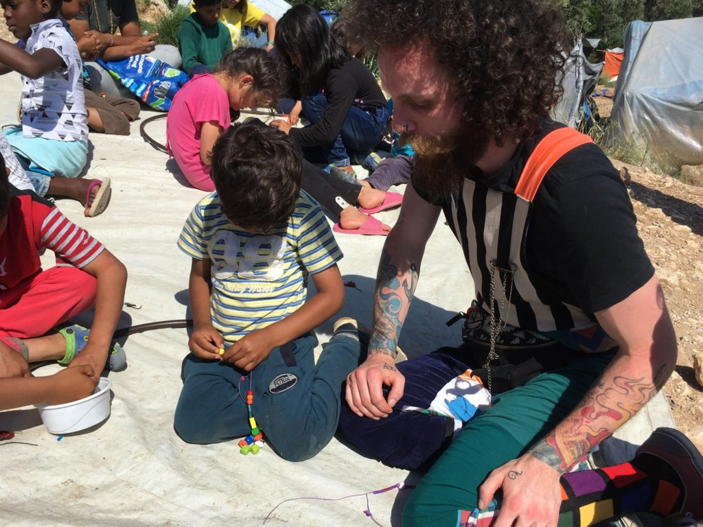 Ropalo Circo works with refugee youth in Greece