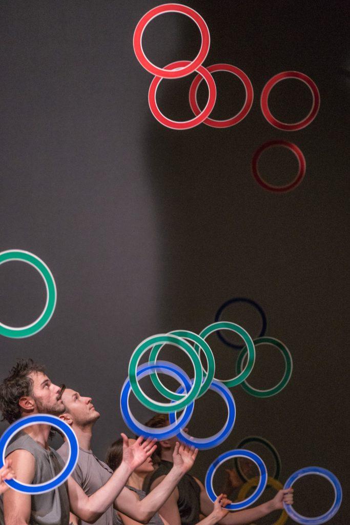 Gandini ring juggling