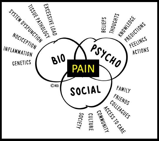 Pain biopsicosocial model