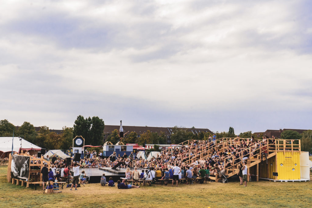Outdoor circus festival