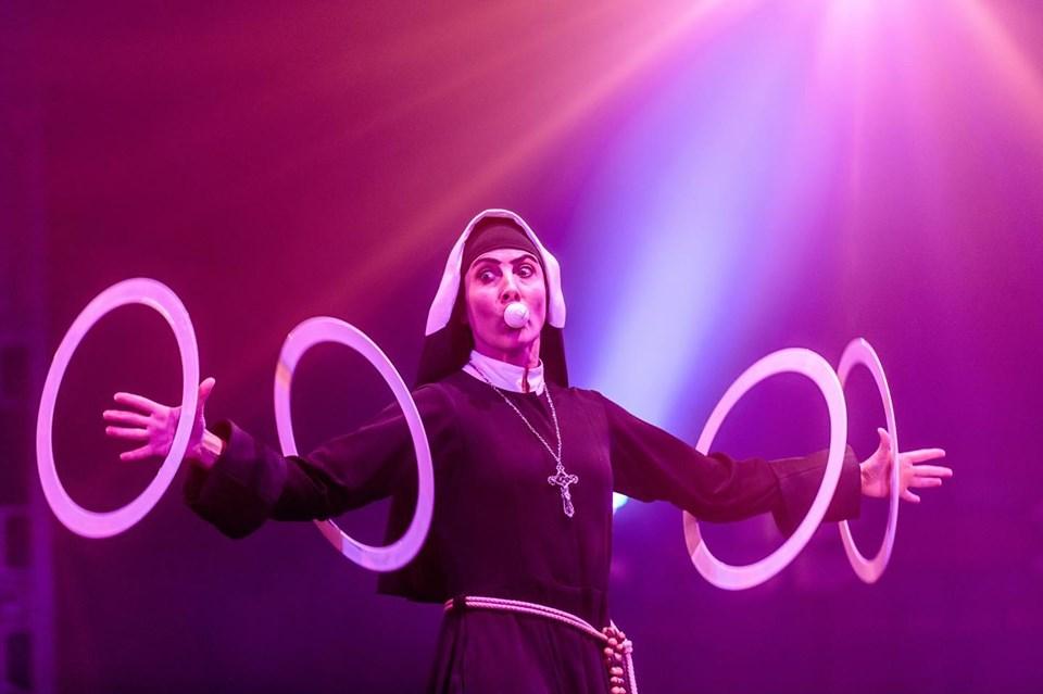juggling nun