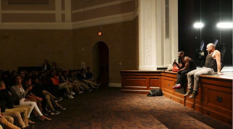 Pulitzer Center Brings Circus Without Borders Filmmakers and Acrobats to DC Schools