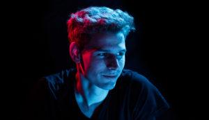 Video designer Lukas Stelter