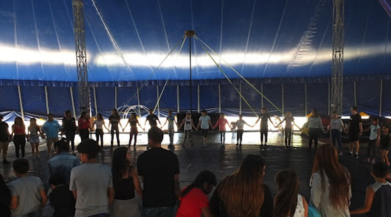 Social circus in Chile