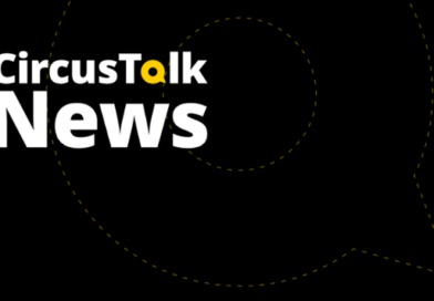 CircusTalk News Alert--black background and the words :CircusTalk News in white and yellow