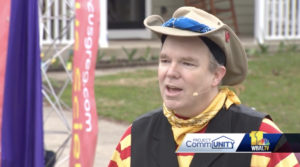 Man Takes Circus Act to Local Neighborhoods to Entertain People for Free