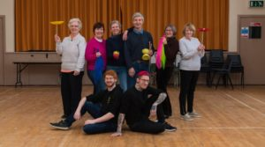 Skills and Thrills of the Circus Giving Belfast's Over-55s a New Zest for Life Thanks to Lottery Handout