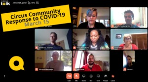 Urgent Concerns– Panel Talk: Circus Community Responds to COVID-19