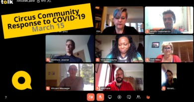 Urgent Concerns– Panel Talk: Circus Community Responds to COVID-19