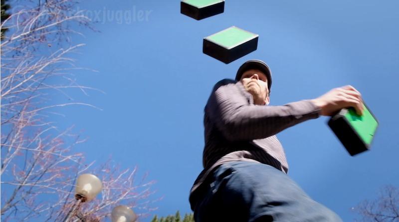 Cigar box juggling