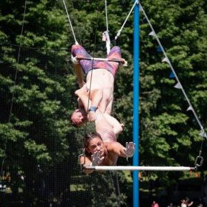 trapeze legs