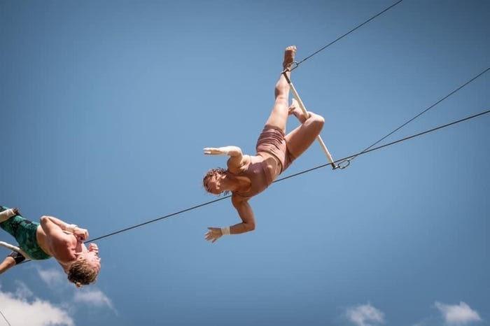 trapeze gazelle