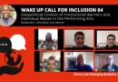 Wake Up Call for Inclusion 04 – Geopolitical Context of Institutional Barriers and Individual Biases in the Performing Arts