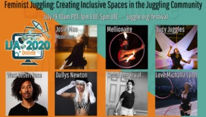 Feminist Juggling – Creating Inclusive Spaces Within the Juggling Community, A Panel Talk