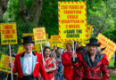 Circuses Left Out of Arts Rescue Package Hold Rally & Deliver Letter to Prime Minister Asking for Support