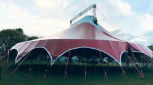 Forget Buildings – Circus Tents are Ideal for Covid-Safe Shows