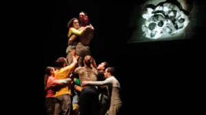 Tumbling, Balancing and Soaring Together: Creating Circus in the Time of Covid