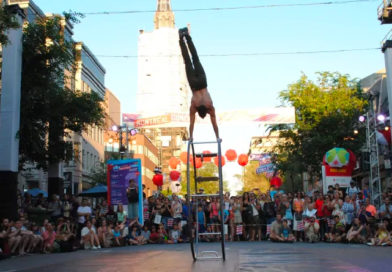 Surprise Circus Performances to Brighten Up Streets of Montreal This Week