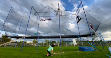 Ireland's First Outdoor Flying Trapeze School Opens