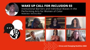 Wake Up Call for Inclusion 03 – Institutional Barriers and Individual Biases in the Performing Arts for Women of Color