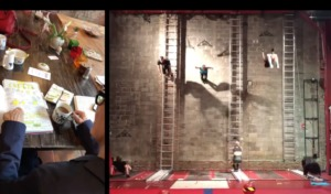 archives and vertical circus wall dance