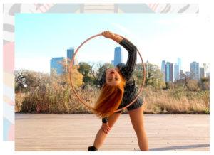 hoop artist