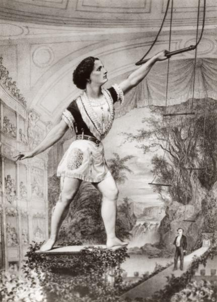 female aerialist