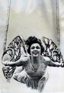 female aerialist