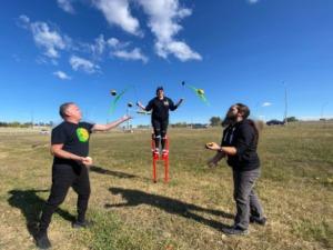 Cirkaskina jugglers
