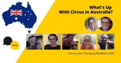 Circus and Changing Realities 2020–What's Up with Circus in Australia?