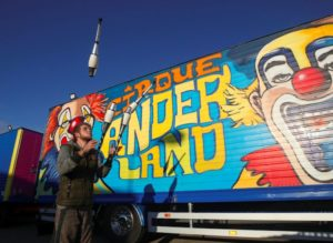 When the Circus Can't Leave Town – French Family Show Stranded in Belgian Car Park