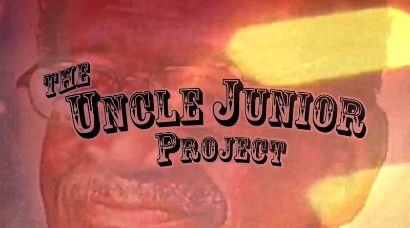 The Uncle Junior Project graphic, featuring Uncle Junior with a red overlay