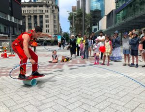 Busker Festival Brings Jaw-Dropping Acts to Our Newest City Spaces