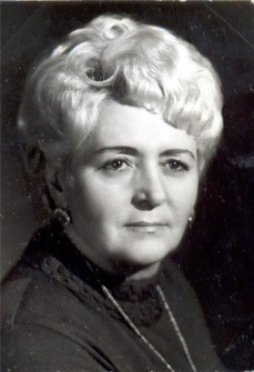 Maria Eötvös, the first director of new circus building of the Budapest Capital Circus in 1971