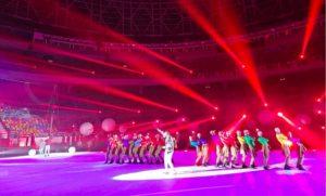 Cirque Éloize at Opening of World Men's Handball Championship Egypt 2021