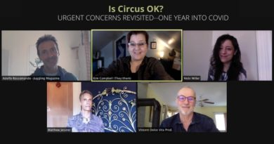 Is Circus OK? Urgent Concerns Revisited–One Year into COVID