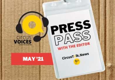 Press Pass logo and episode title