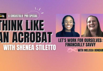 Title graphic for episode 6 of Think Like An Acrobat