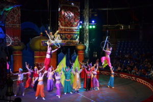 Circus Show Restaged to Celebrate National Holiday