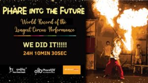 Phare Circus Attempts World Record, Wins International Awards