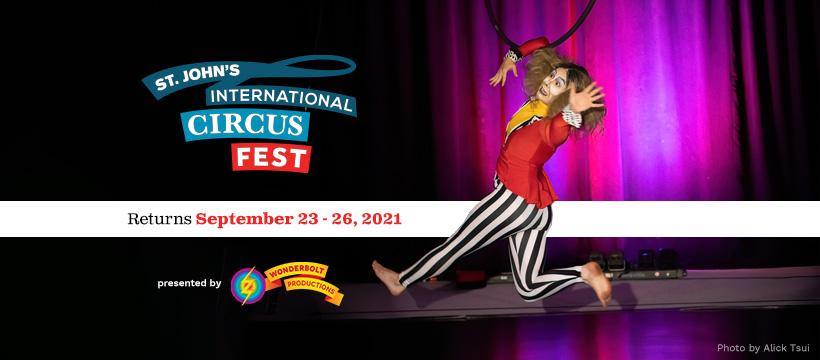 St. John's CircusFest Poster